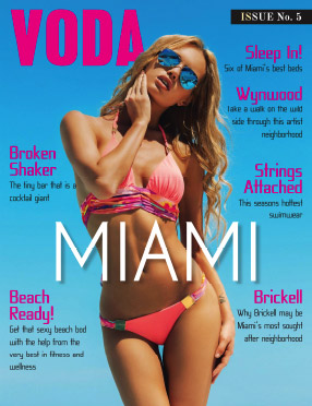 In The Press: Voda Magazine Miami