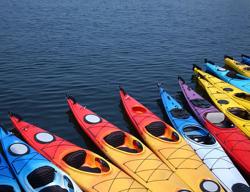 Kayaking, canoeing & surfing
