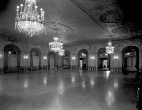 Crystal Ballroom in 1927