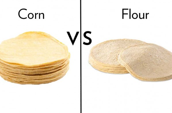 Corn Tortilla vs Flour Tortilla