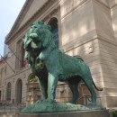 Wreathing of the Lions at the Art Institute of Chicago