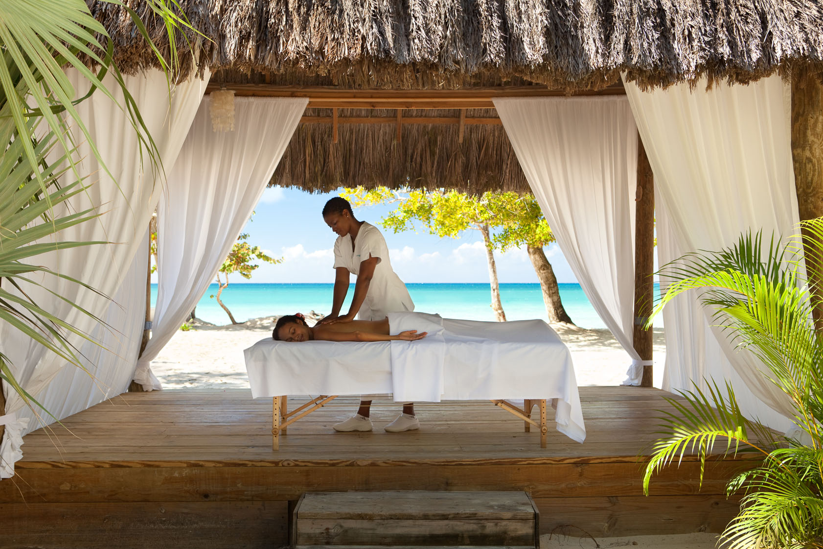 Be pampered in paradise
