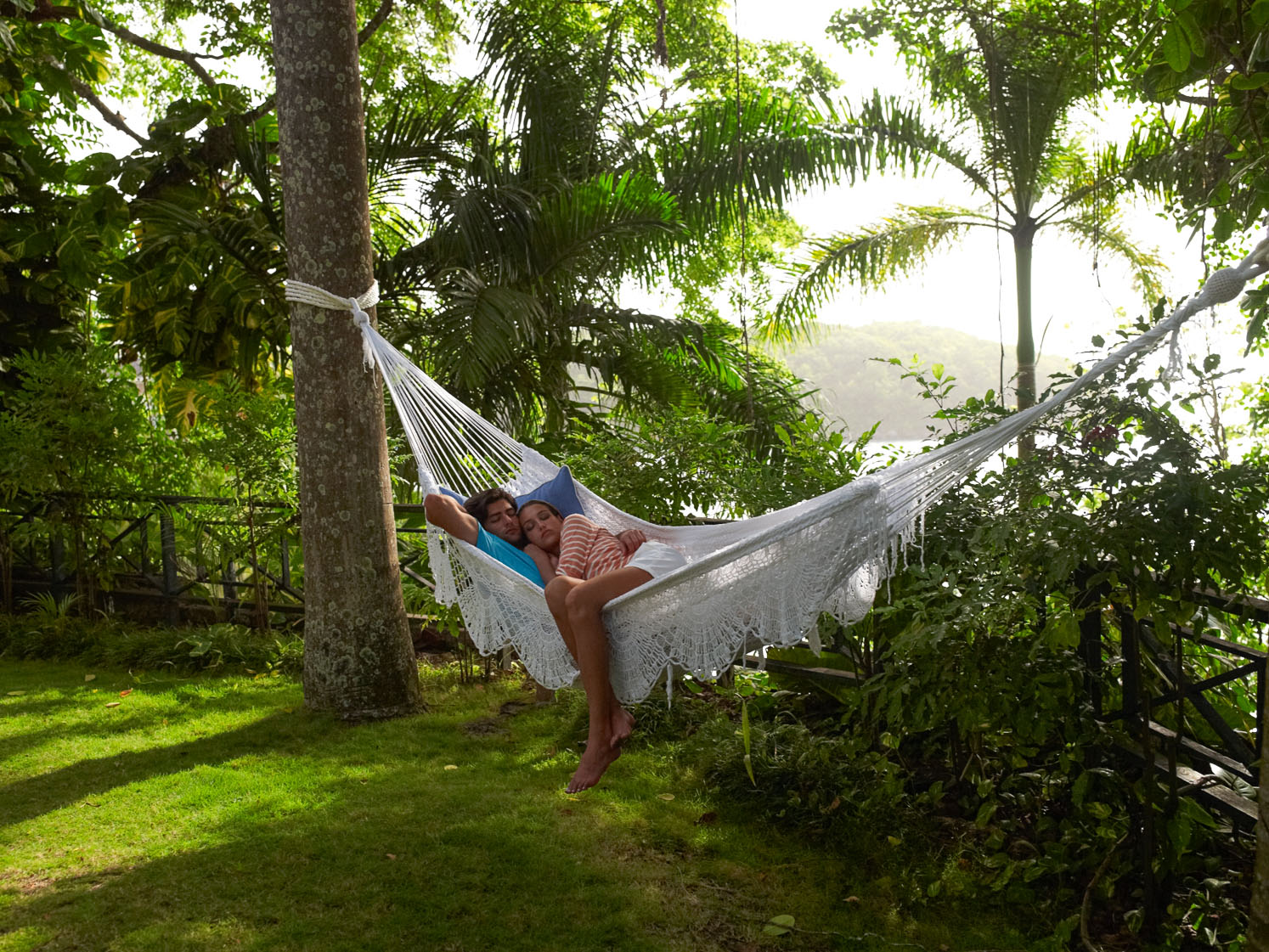 Steal a nap in a hammock