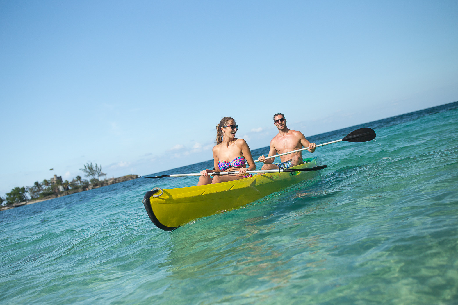 Kayaking at Couples Tower Isle