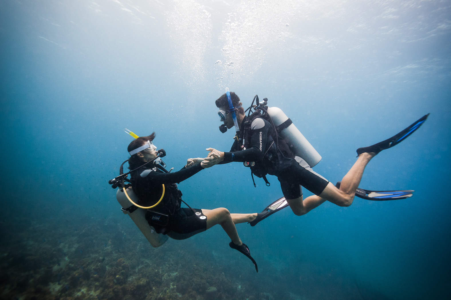 Scuba for Two at Couples Swept Away