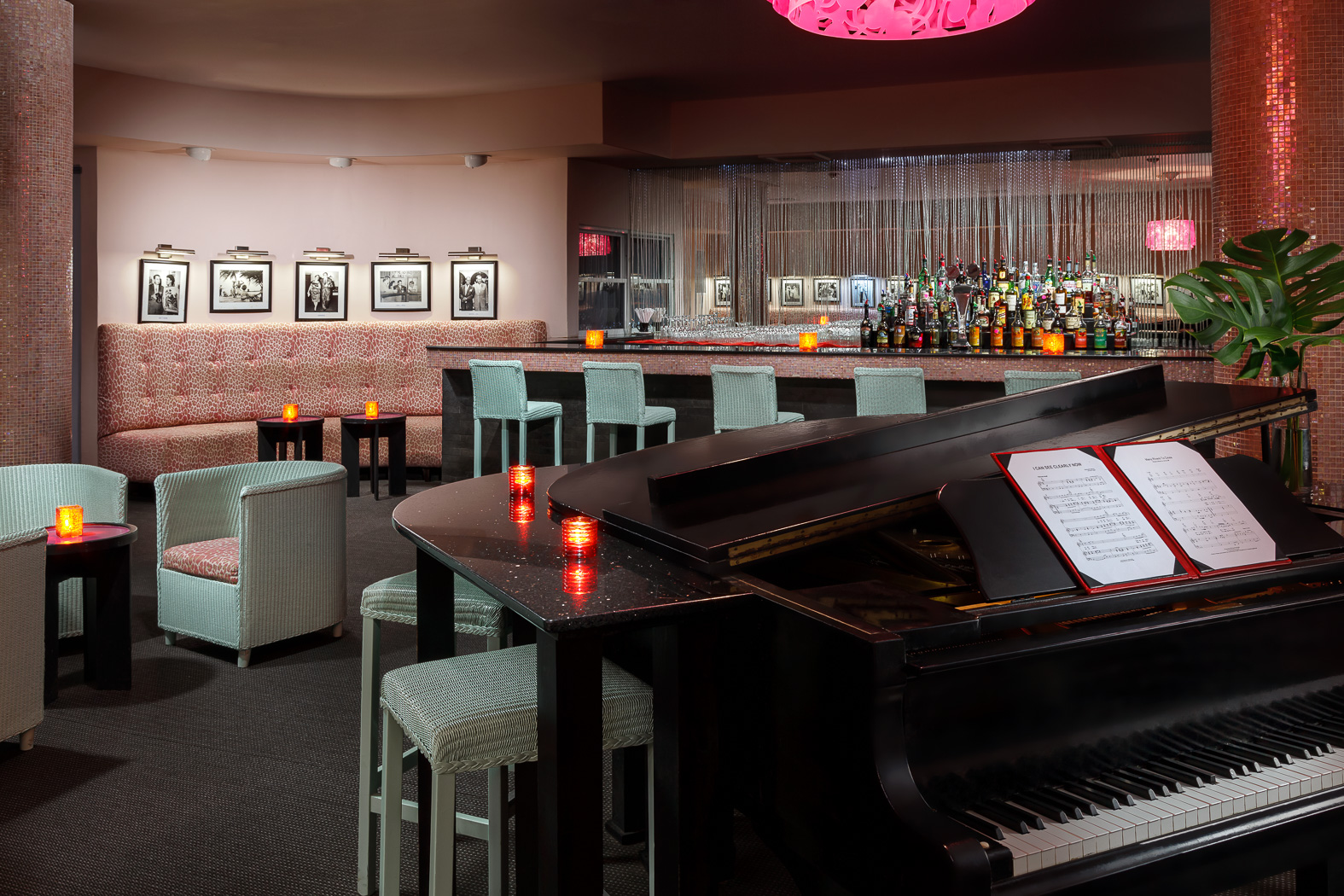 Piano Bar Interior