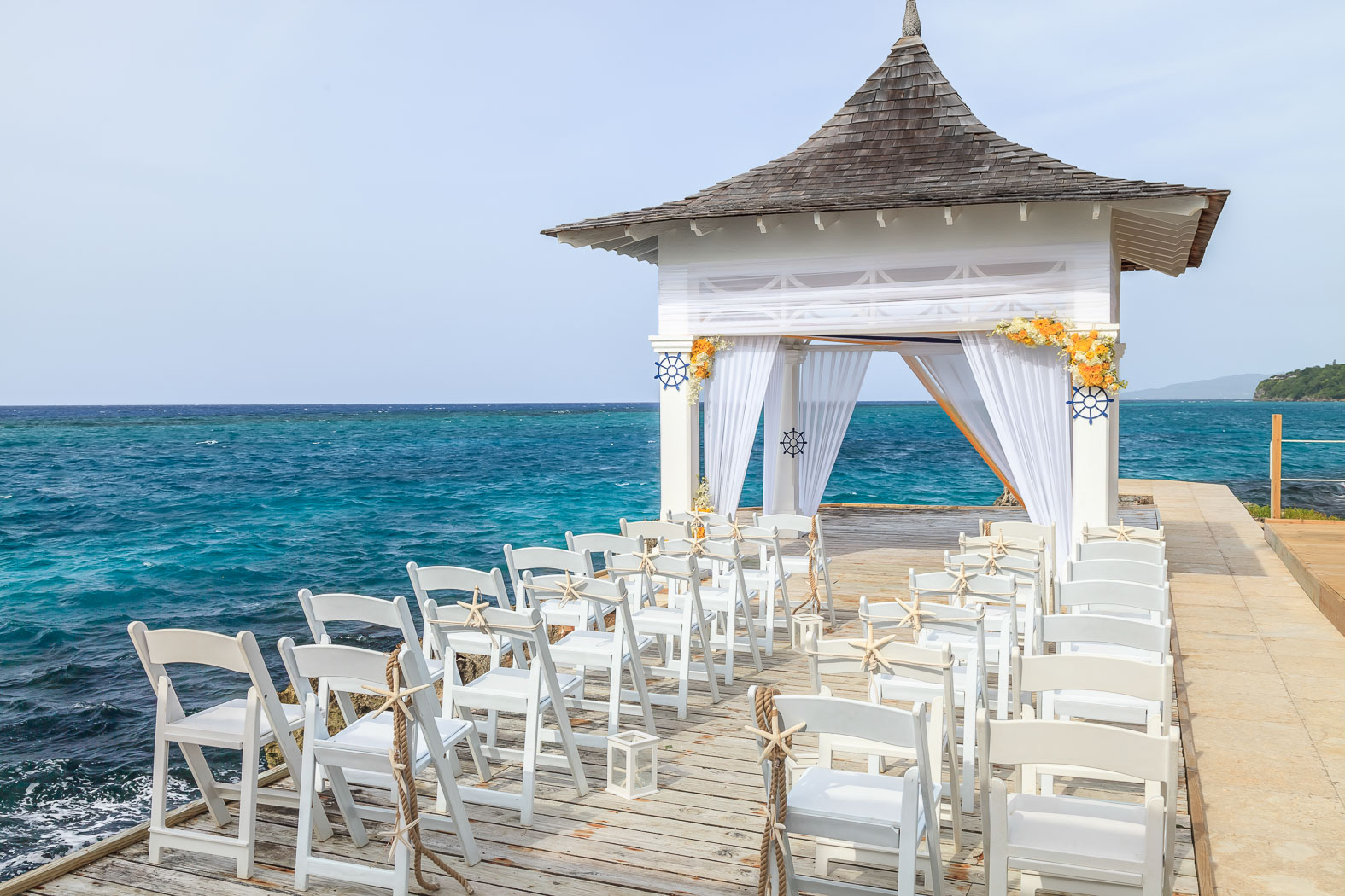 Private Island Weddings only at Couples Tower Isle