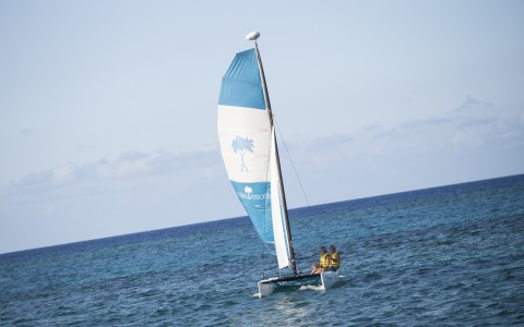 Hobie Cat Sail at Couples Tower Isle