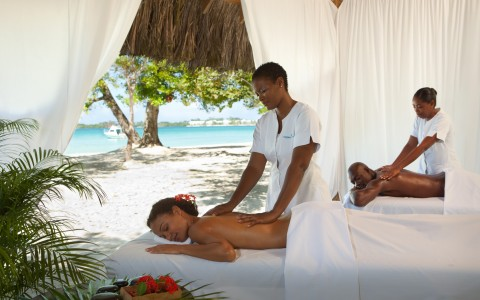 Enjoy a relaxing massage