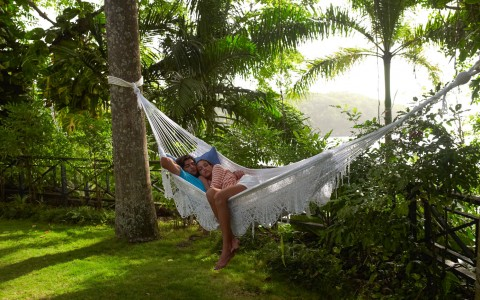 Grab a nap in a hammock