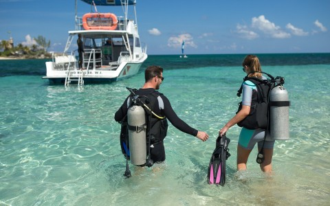 Scuba Diving at Couples Tower Isle