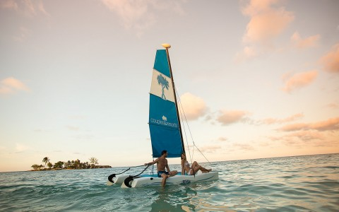 Hobie Cat Sailing at Couples Tower Isle
