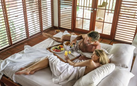 Fabulous Room Service at Couples Swept Away