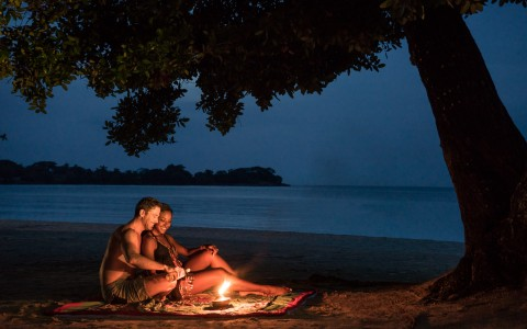 Cozy Campfire at Couples Negril
