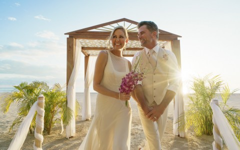 Tropical Wedding at Couples Swept Away