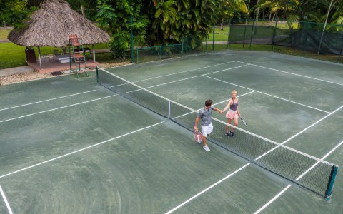 Tennis Tandem at Couples Swept Away