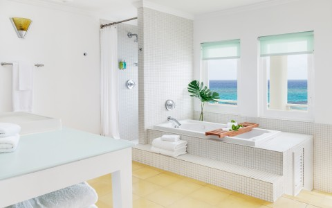 Ocean Junior Suite Bathroom