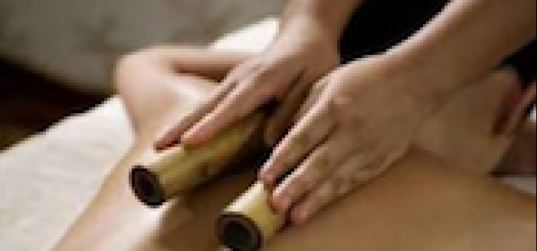 Heated Bamboo Massage*