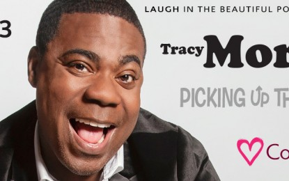 Tracy Morgan<br> March 13 at Cove Haven Resort