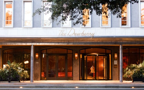 The Dewberry entrance