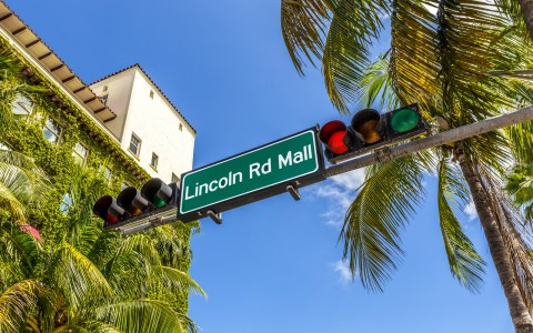 Visit Lincoln Rd. Mall