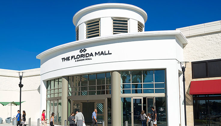 1. We're connected to the Florida Mall