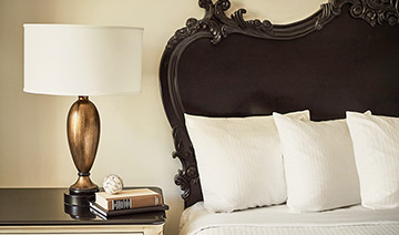 French Quater Inn Benefits Pillows (And More Pillows)