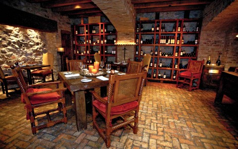 Cool Dining in the Wine Cellar