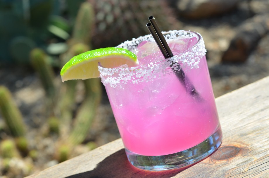 Last Drop's Prickly Pear Margarita
