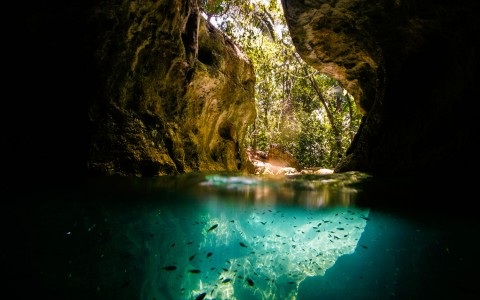 The Blue Holes of Belize