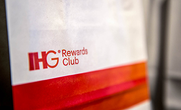 IHG rewards club sign