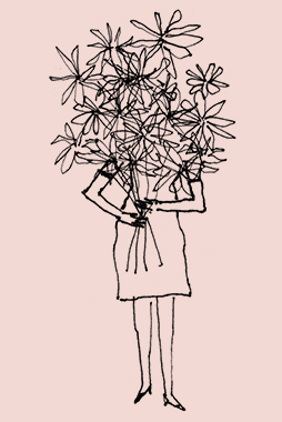 Gatherings Flowers Illustration