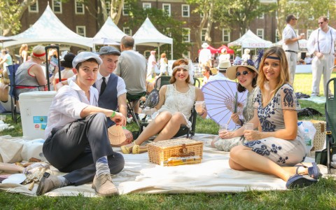 A Soir&#233e Fit for F. Scott Fitzgerald: New York's Annual Jazz Age Lawn Party