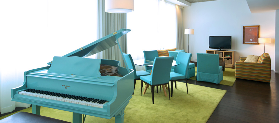 Presidential Baby Grand Suite