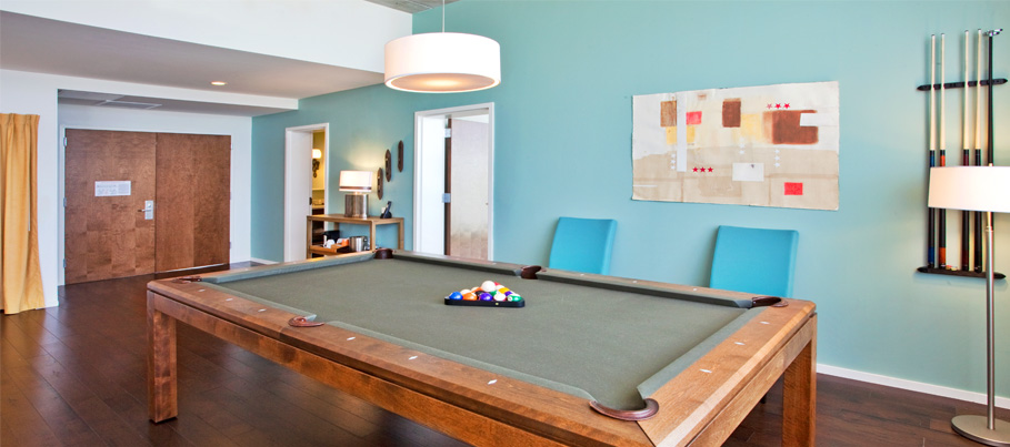 Presidential Billiard Suite