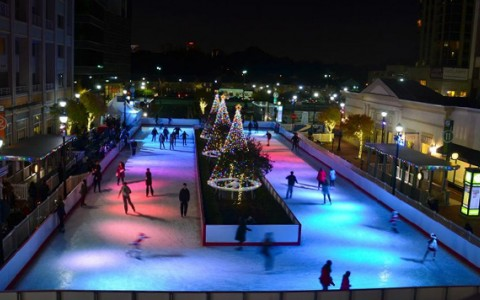 ATLANTIC STATION SKATING