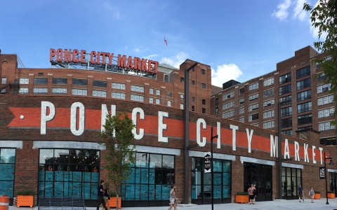 Ponce City Market, Transforming the Landscape