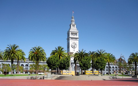 day shot of ferry building