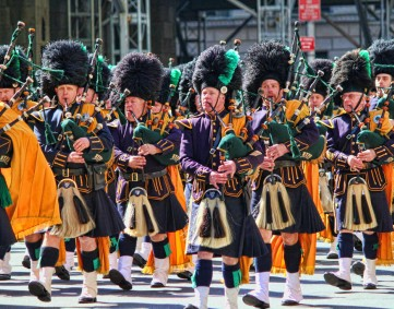 Saint Patrick's Parade of Pipers and Marshals