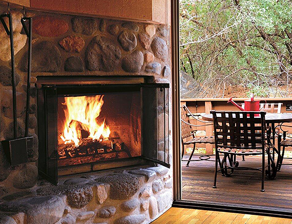 Curl Up in Front of Your Own Fireplace