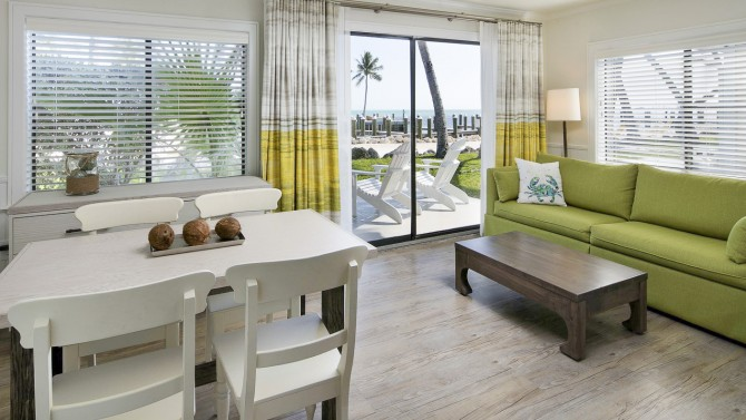 One Bedroom Beachfront Cottage