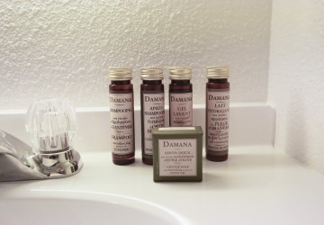 bathroom toiletries