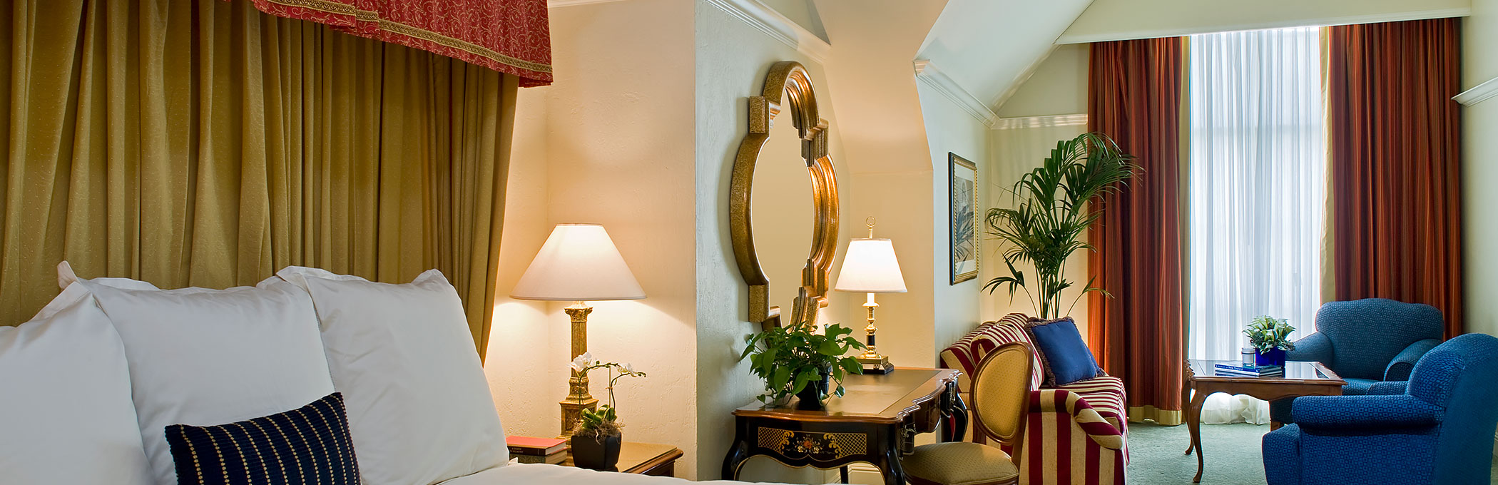Rooms and Suites Reminiscent of the European Countryside