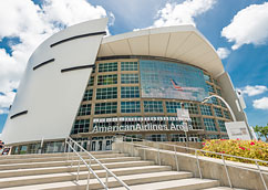 AmericanAirlines Arena<span>5 minute Uber ride</span>