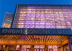 Knight Concert Hall <span>10 minute Uber ride</span>