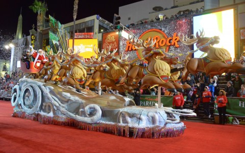 The Annual Hollywood Christmas Parade