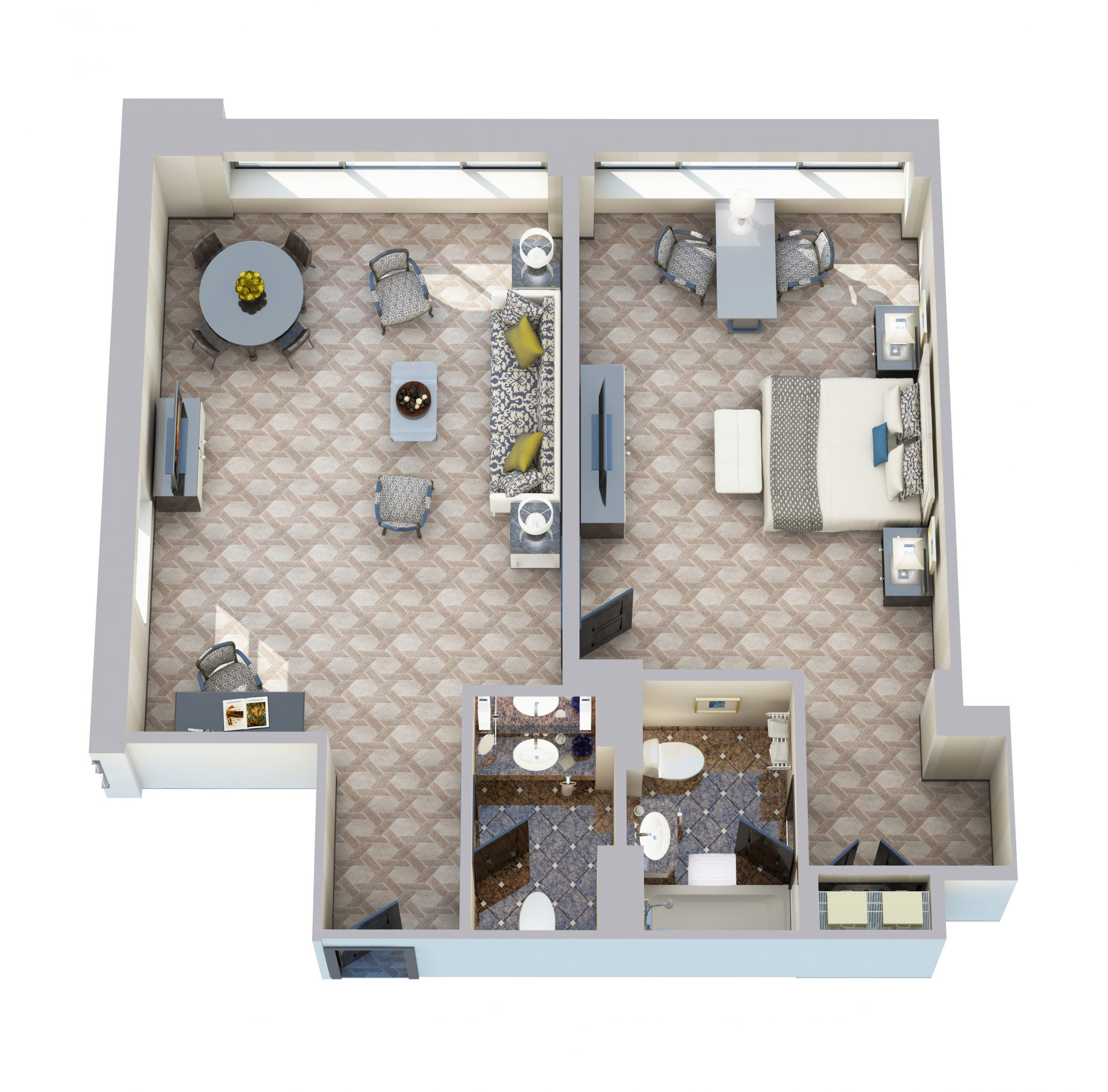 Amazing View Floorplan