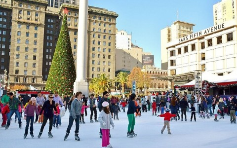 union square ice rink