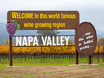 The City Of Napa Was First Established Alongside The Napa River Back In 1847 And Is The Only True City In The Napa Valley At The Far Southern End Of The