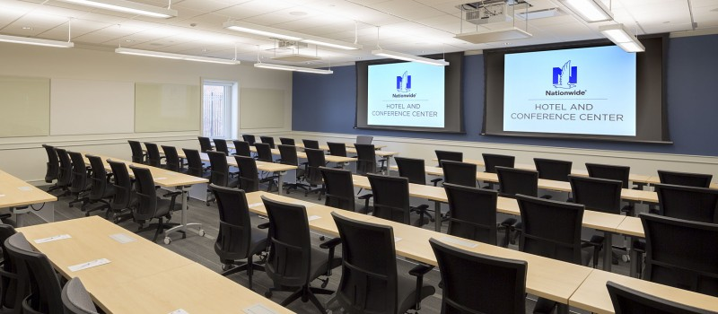 Training room at Nationwide
